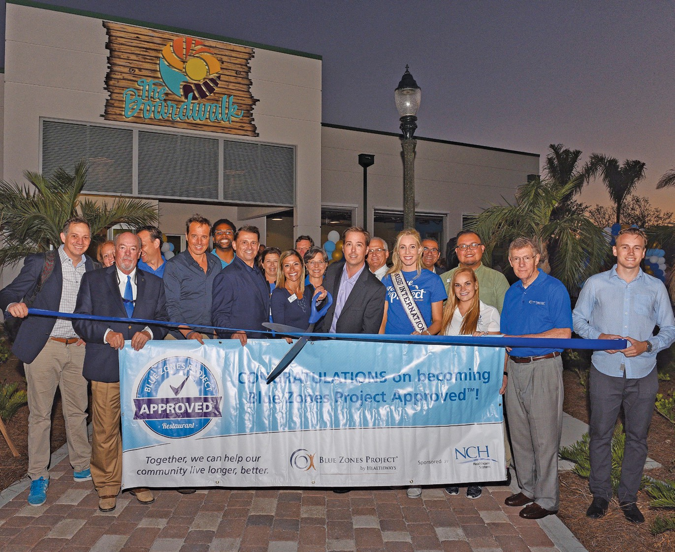 Boardwalk Becomes Second Blue Zones Project Approved